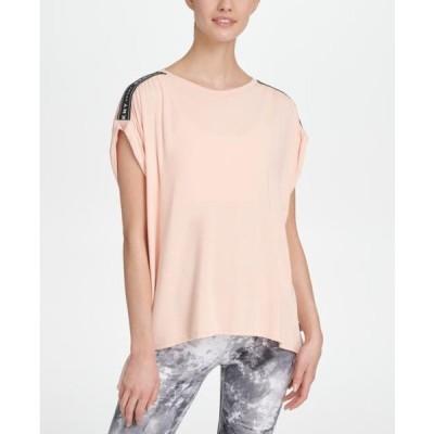 レディース 衣類 トップス Dkny Sport Women's Relaxed T-Shirt Pink S Tシャツ