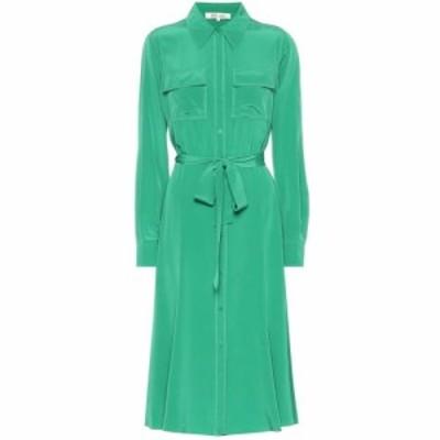 ダイアン フォン ファステンバーグ Diane von Furstenberg レディース ワンピース シャツワンピース ワンピース・ドレス Antonette silk
