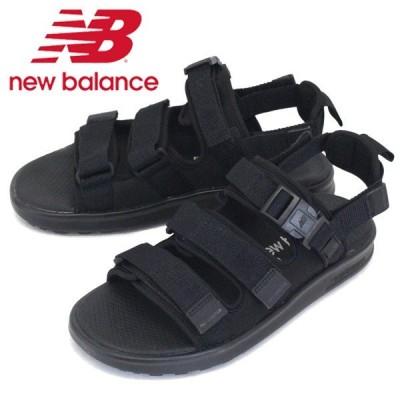 new balance (ニューバランス) SDL750 TK サンダル BLACK NB721