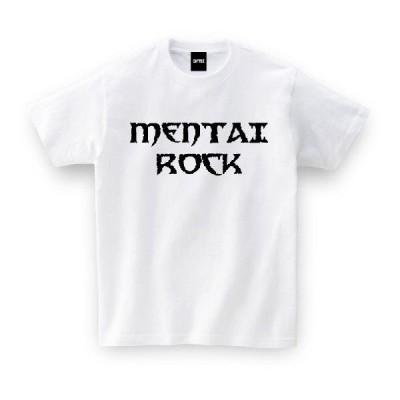 ご当地Tシャツ 福岡県 MENTAIROCK ホワイト おもしろtシャツ メンズ レディース ギフト GIFTEE