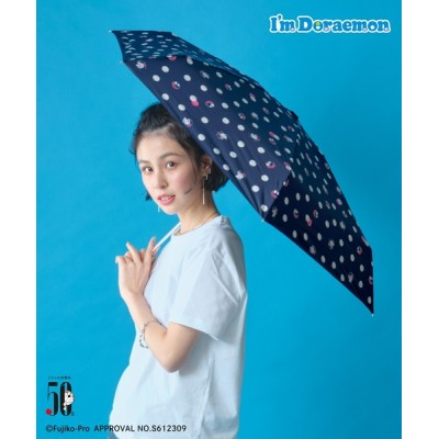 折りたたみ傘 ドラえもん 遮光通りぬけフープmini 801-dr03