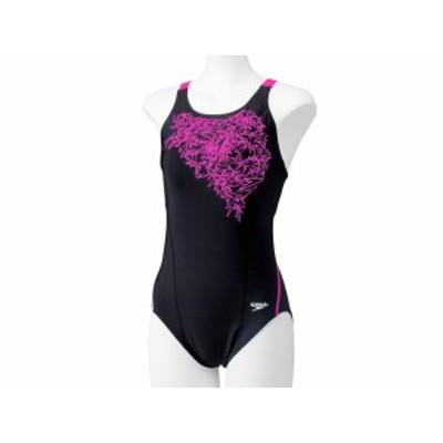 スピード:【レディース】ブーンプリントスーツ【speedo 水泳 スイム フィットネス 水着 ワンピース】