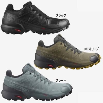 サロモン メンズ スピードクロス ゴアテックス SPEEDCROSS 5 GORE-TEX 登山靴 山登り シューズ トレイルランニング トレラン 防水 L40795300 L41117400
