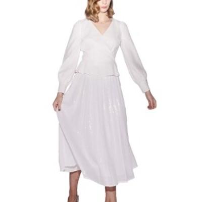 オリビアルービン レディース ワンピース トップス Olivia Rubin Edie Midi Dress Neapolitan stripe