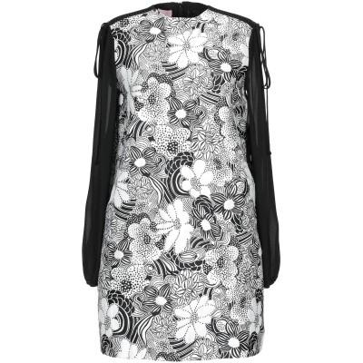 ジャンバ GIAMBA ミニワンピース&ドレス ホワイト 40 コットン 100% / レーヨン / ポリエステル ミニワンピース&ドレス