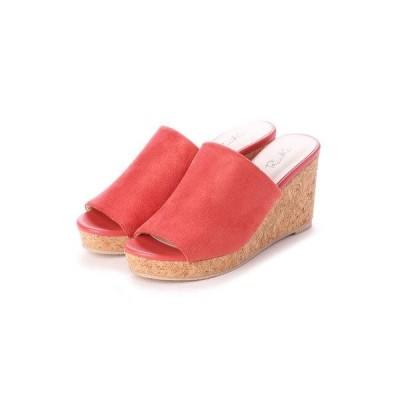 リーカ RiiiKa シンプル厚底ウェッジサンダル (pink)