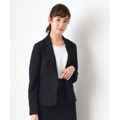 INTERPLANET/actuel / 【セットアップ対応商品】2WAYオックステーラードジャケット WOMEN ジャケット/アウター > テーラードジャケット
