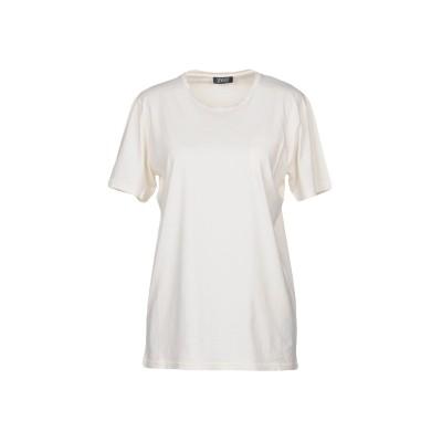 SEVENTY SERGIO TEGON T シャツ アイボリー L 100% コットン T シャツ