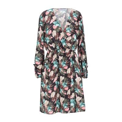 カオス KAOS ミニワンピース&ドレス ブラック 40 ポリエステル 97% / ポリウレタン 3% ミニワンピース&ドレス