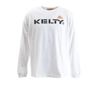 ロゴロングTシャツ KE-934-1018 WHITE