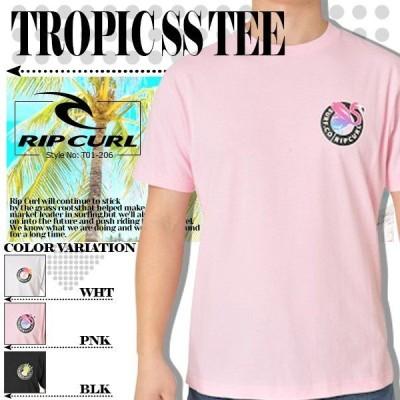 リップカール Tシャツ 半袖 新作 メンズ オリジナル ブラック ピンク ホワイト 黒 白 バレンタイン RIP CURL T01-206