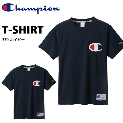 半袖 Tシャツ チャンピオン Champion メンズ T-SHIRT ビッグロゴ ネイビー 紺 2020夏新作 C3-R304