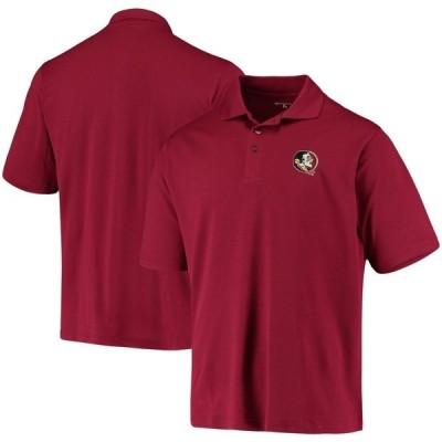アンティグア ポロシャツ トップス メンズ Florida State Seminoles Antigua Pique Xtra Lite Polo Garnet