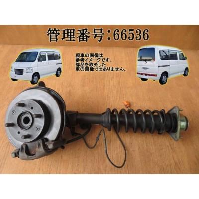 H16 バモスホビオ HM4 4WD 左フロント足回り/左F足周り(一式)