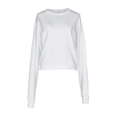キアラ・フェラーニ CHIARA FERRAGNI スウェットシャツ ホワイト S コットン 100% スウェットシャツ