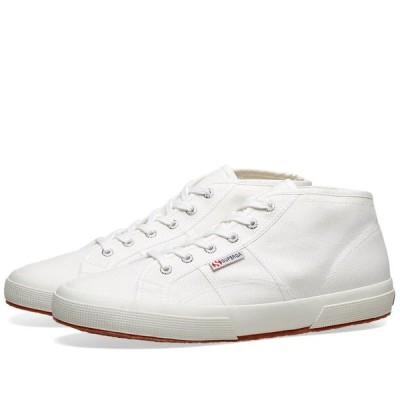スペルガ Superga メンズ スニーカー シューズ・靴 2754 Cotu Mid White