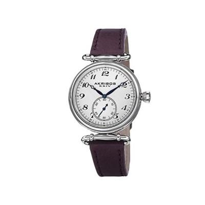 Akribos XXIV Women's 'Impeccable' Swiss Quartz Watch - Clear Arabic Numeral