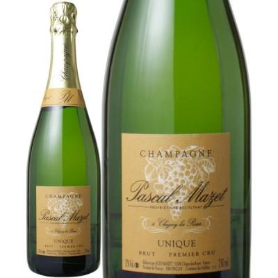 ワイン シャンパン パスカル・マゼ プルミエ・クリュ ユニーク ブリュット NV 白 wine