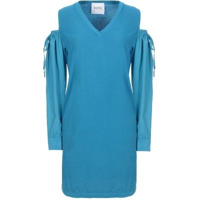 BRAND UNIQUE ミニワンピース&ドレス アジュールブルー 0 コットン 100% ミニワンピース&ドレス