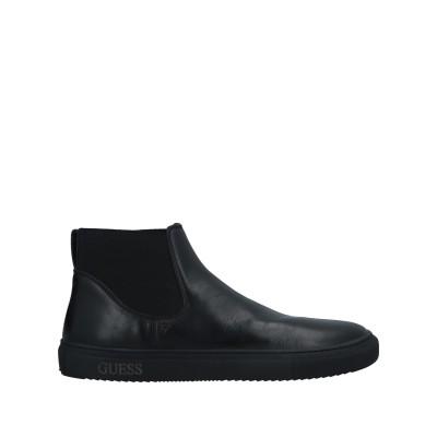 ゲス GUESS ショートブーツ ブラック 40 革 ショートブーツ