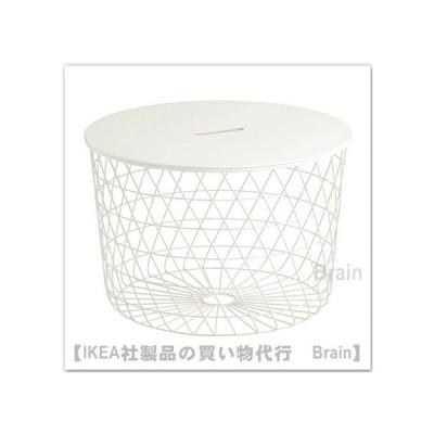 IKEA/イケア KVISTBRO/クヴィストブロー 収納テーブル61 cm ホワイト