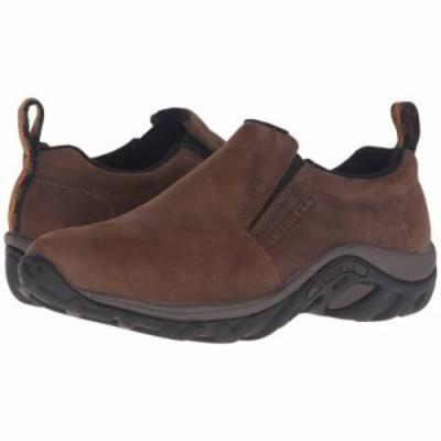 メレル 革靴・ビジネスシューズ Jungle Moc Nubuck Brown Nubuck