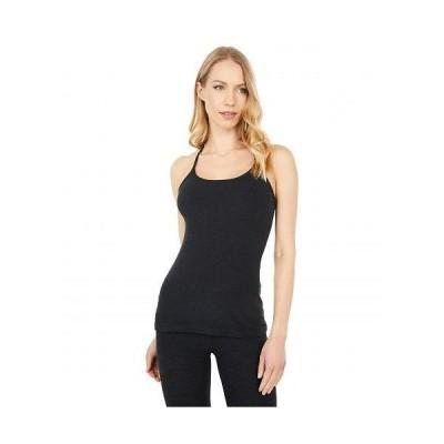 Beyond Yoga ビヨンドヨガ レディース 女性用 ファッション アクティブシャツ Spacedye Slim Racerback Cami - Darkest Night