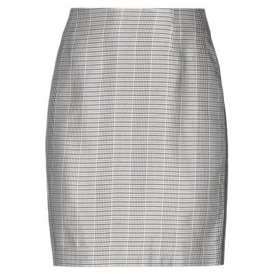 GESTUZ ひざ丈スカート ベージュ 36 アセテート 55% / レーヨン 45% ひざ丈スカート