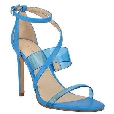 ゲス レディース サンダル シューズ Felecia Clear Banded Dress Sandals
