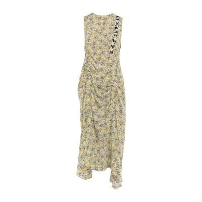 ジョゼフ JOSEPH ロングワンピース&ドレス イエロー 40 シルク 100% ロングワンピース&ドレス