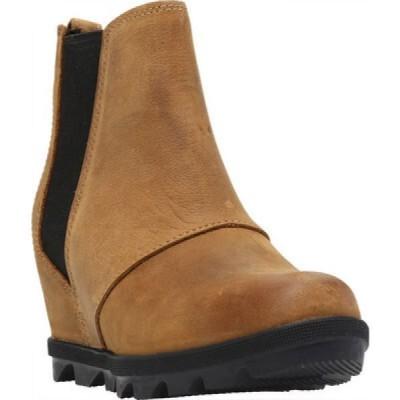 ソレル Sorel レディース ブーツ チェルシーブーツ ウェッジソール シューズ・靴 Joan Of Arctic Wedge II Chelsea Boot Elk