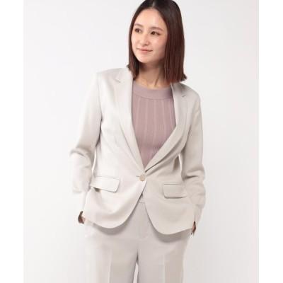 MEW'S REFINED CLOTHES / 洗える接触冷感テーラードジャケット WOMEN ジャケット/アウター > テーラードジャケット