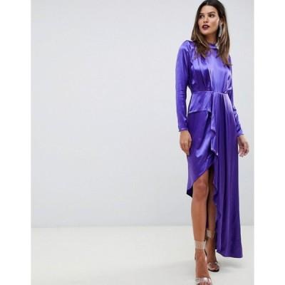 エイソス レディース ワンピース トップス ASOS EDITION asymmetric soft cocktail dress