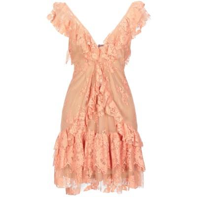 アニヤバイ ANIYE BY ミニワンピース&ドレス サーモンピンク M コットン 52% / ポリエステル 48% ミニワンピース&ドレス