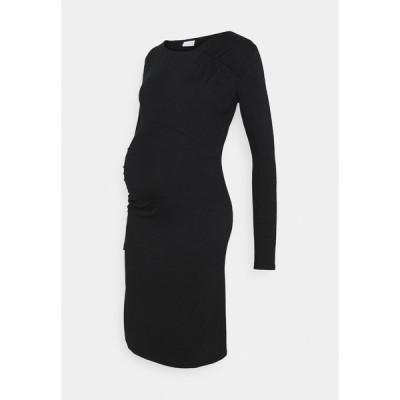 ママリシャス ワンピース レディース トップス MLMARTA SHORT DRESS - Jersey dress - black