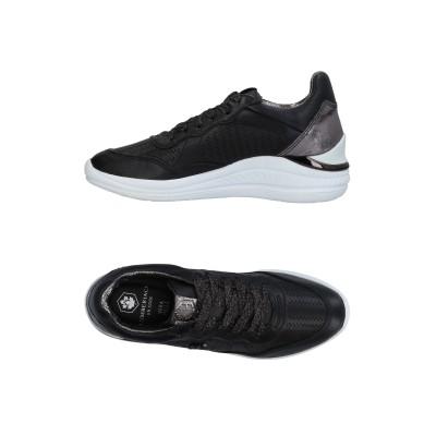 LUMBERJACK スニーカー&テニスシューズ(ローカット) ブラック 36 革 / 紡績繊維 スニーカー&テニスシューズ(ローカット)