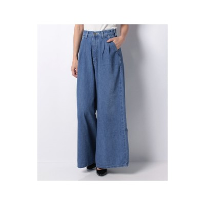 actuelselect 【Lee】WIDE PANTS(ブルー)【返品不可商品】