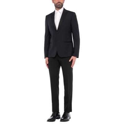 SIMON PEET スーツ ダークブルー 52 ポリエステル 65% / レーヨン 35% スーツ