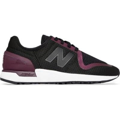 ニューバランス New Balance レディース スニーカー シューズ・靴 247S Lifestyle Shoes Black/Purple