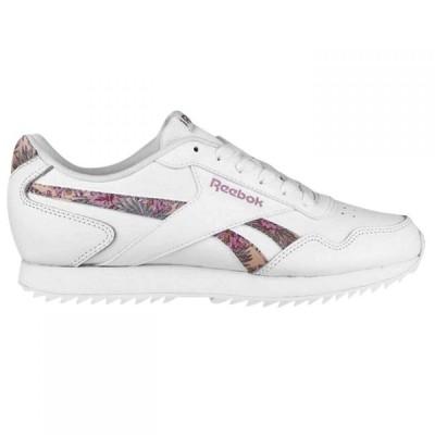 リーボック Reebok レディース スニーカー シューズ・靴 Royal Glide Ripple Trainers White/Floral