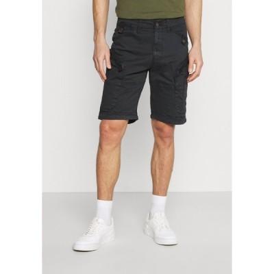 インディコーデ ジーンズ カジュアルパンツ メンズ ボトムス SABARDELL UTILITY - Shorts - black