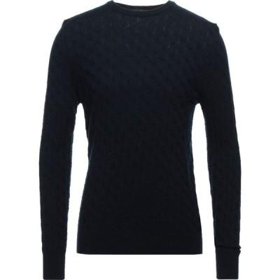 フローレンス カシミヤ FLORENCE CASHMERE メンズ ニット・セーター トップス Sweater Dark blue