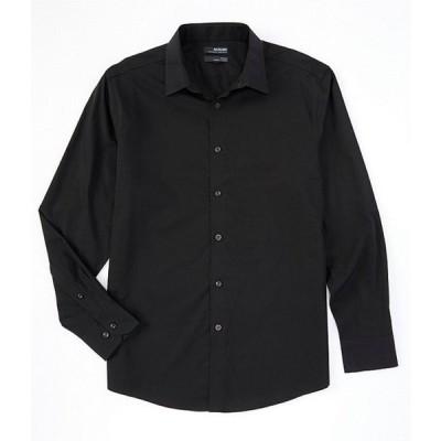 ムラノ メンズ シャツ トップス Wardrobe Essentials Solid Long-Sleeve Woven Shirt