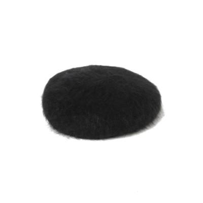【ビームス アウトレット】 Ray BEAMS / アンゴラ ベレー帽 レディース ブラック ONESIZE BEAMS OUTLET