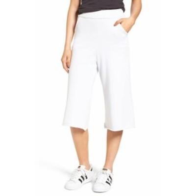 ファッション パンツ Frank & Eileen Tee Lab NEW White Womens Small S Crop Pants Stretch