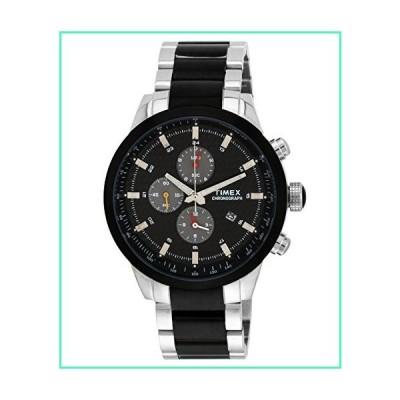 Timex Men's Chronograph Dial Watch Black並行輸入品