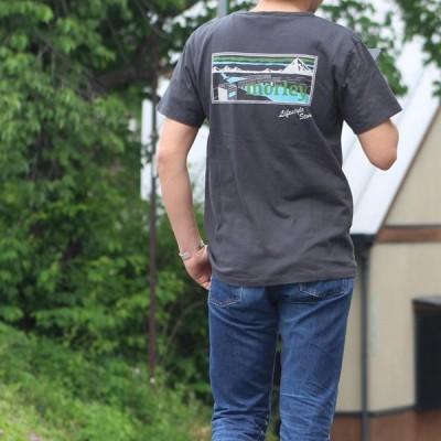別注 free rage/フリーレイジ モーリークロージングTシャツ スミクロ(バックプリント)