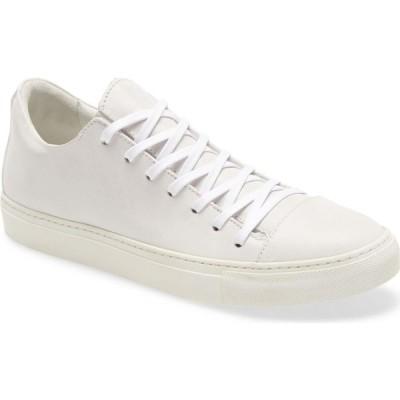 ジョン バルベイトス JOHN VARVATOS メンズ スニーカー シューズ・靴 Reed Sneaker White