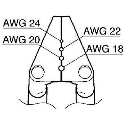 G21602白光 ベント型ブレード 18-24AWG8248365