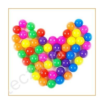 (ダドウドウ) Dadoudouボールプール用ボール カラフルで楽しいフタル酸塩フリーBPAフリーな壊れないボール ソフ